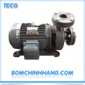 may bom ly tam truc ngang dau gang teco g315 100 4p 15hp