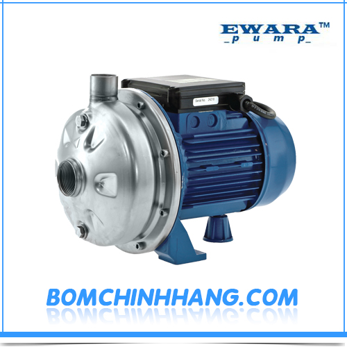 Máy bơm ly tâm đầu inox Ewara CDX 200/15 1.5HP
