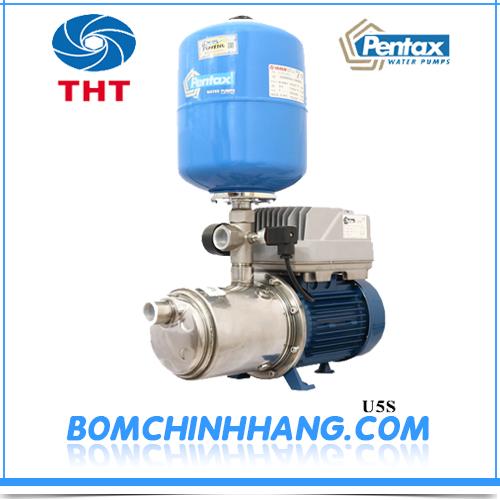 Máy bơm tự động tăng áp biến tần Pentax U5S - 180/6T + EPIC + S.D 1.8HP